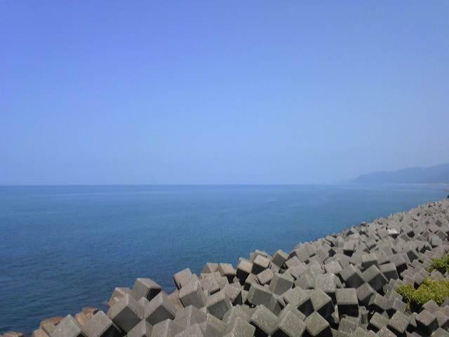 糸魚川の海